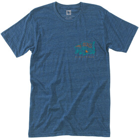 Hippy Tree Locals T-Shirt Homme, heather navy